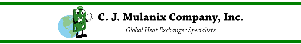 C. J. Mulanix Company, Inc. Global Heat Exchanger Specialists - Replacement Gaskets & Plates for Plate and Frame Heat Exchangers